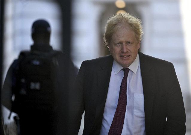 英國前外交大臣鮑里斯·約翰遜