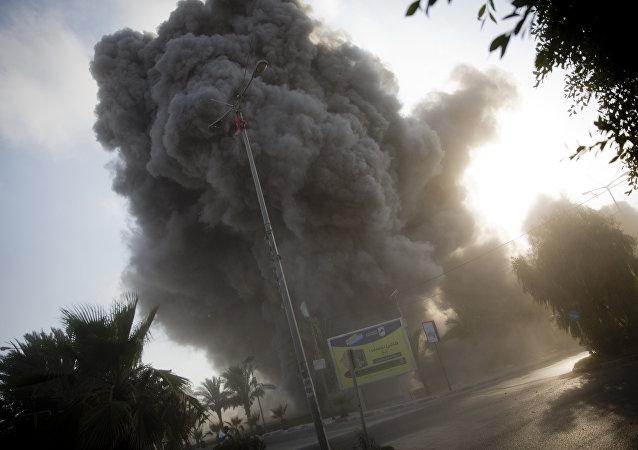 以軍對加沙地帶發起進攻 (資料圖片)