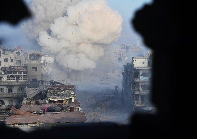 敘數千武裝分子同意離開庫奈特拉並前往伊德利卜