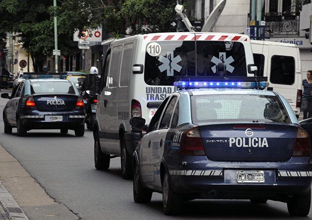 媒體:阿根廷一架醫療飛機在降落時墜毀