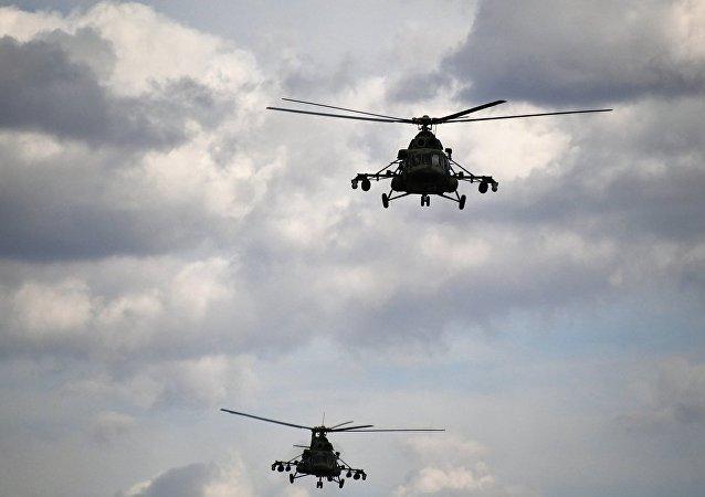 一架單發飛機在新西伯利亞州失蹤  米-8直升機正在搜尋