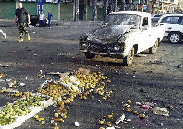敘利亞蘇韋達市恐怖襲擊