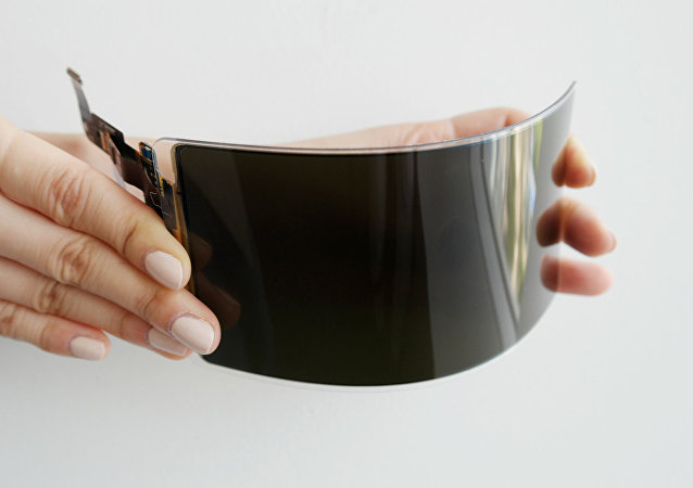 三星公司宣佈研發出不碎OLED屏