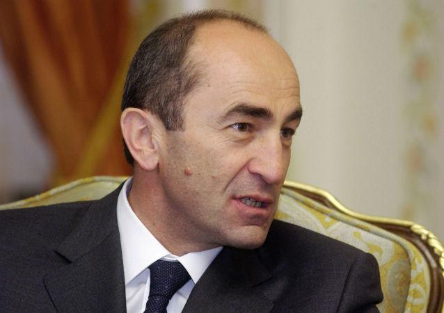 亞美尼亞前總統羅伯特∙科恰良
