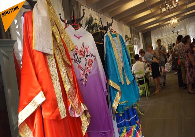 莫斯科北京日文化展在市中心舉行