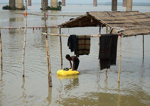 印度北部季風降雨造成近50人死亡