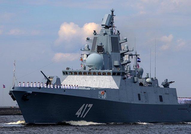 俄「戈爾什科夫海軍元帥」號護衛艦
