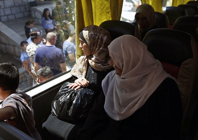 超1300名難民一晝夜內從境外重返敘利亞