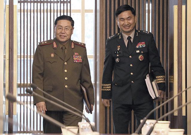 朝韓舉行將軍級會談