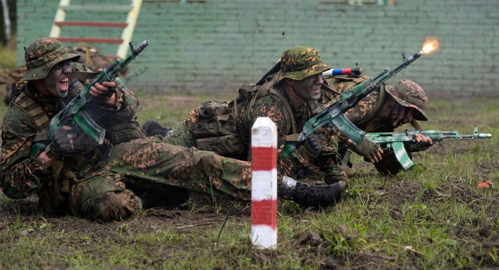 「國際軍事比賽-2020」賽場