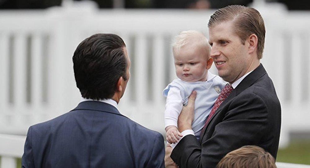 美國總統之子埃里克稱第一家庭的成員都受過恐嚇