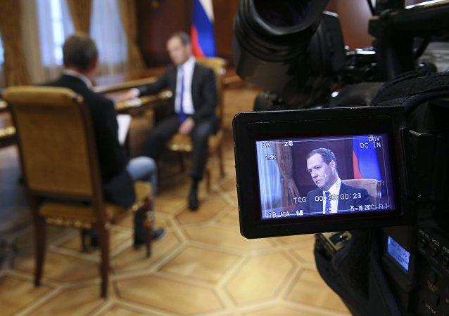 梅德韋傑夫:俄羅斯2008年行動並非打算摧毀格魯吉亞