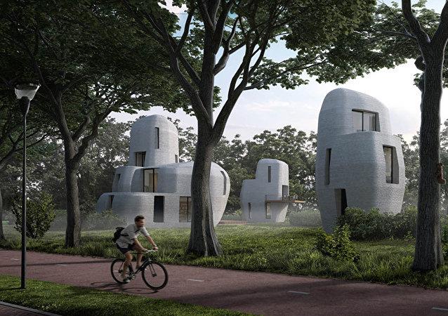 荷蘭將現3D打印房屋
