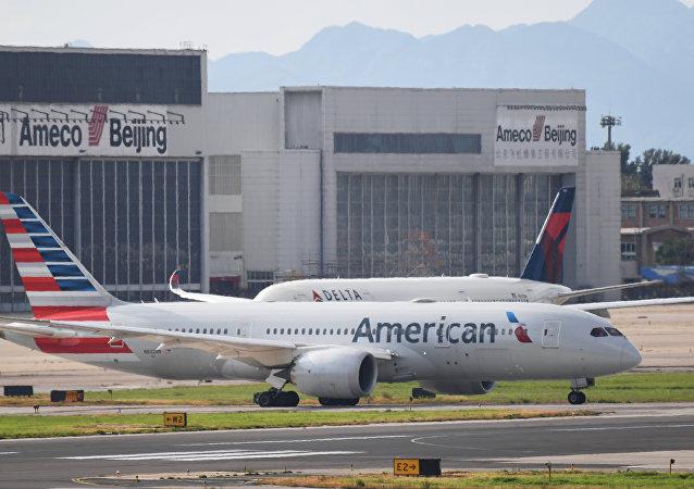美國航空公司的客機