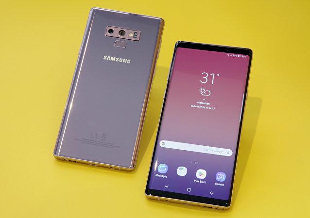 三星智能手機Galaxy NOTE 9