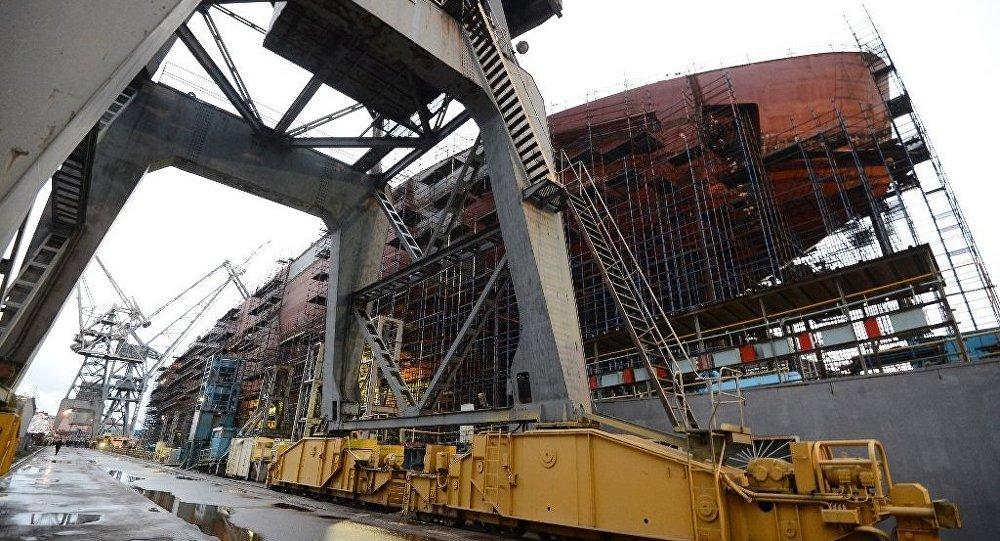 聖彼得堡開始建造「楚科奇」號新型核動力破冰船