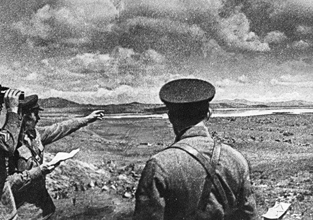 俄濱海邊疆區哈桑湖附近1938年戰鬥現場發現日軍陣地