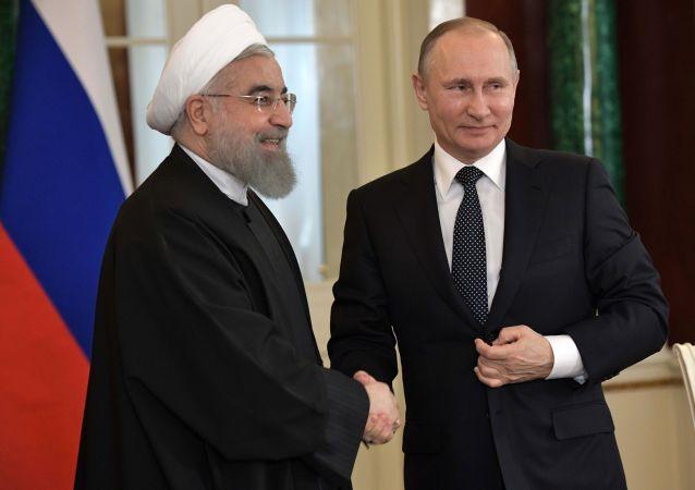 普京和魯哈尼討論敘利亞伊德利卜局勢