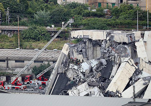 意大利熱那亞高架橋坍塌事故
