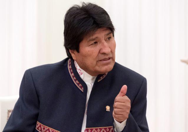 莫拉萊斯感謝玻利維亞人民並表示希望騷亂停止