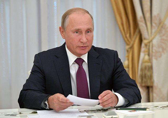 普京:俄羅斯將堅決捍衛海外同胞的權利