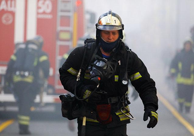 莫斯科消防員