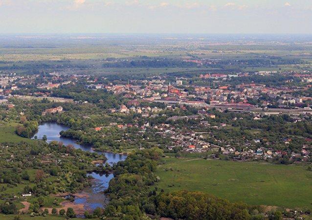 俄羅斯加里寧格勒洲的切爾尼亞霍夫斯克市