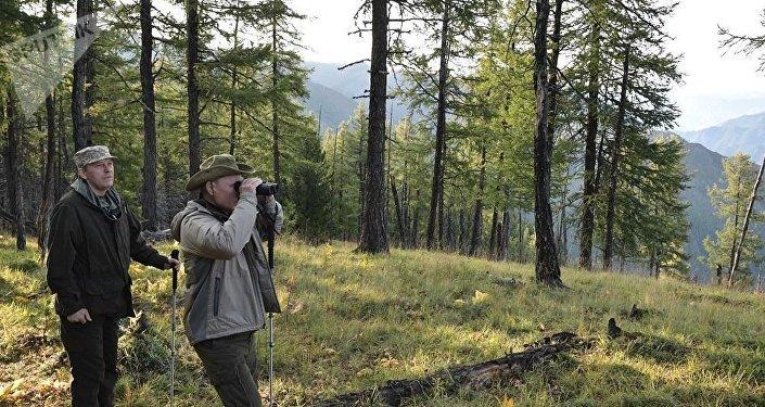 這並非普京首次赴圖瓦度假。去年8月他在西伯利亞停留了2日,進行了水下狩獵和捕魚。