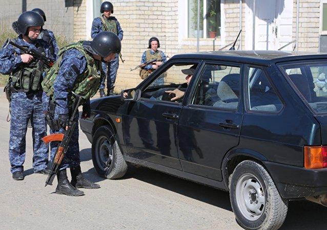 俄達吉斯坦警方