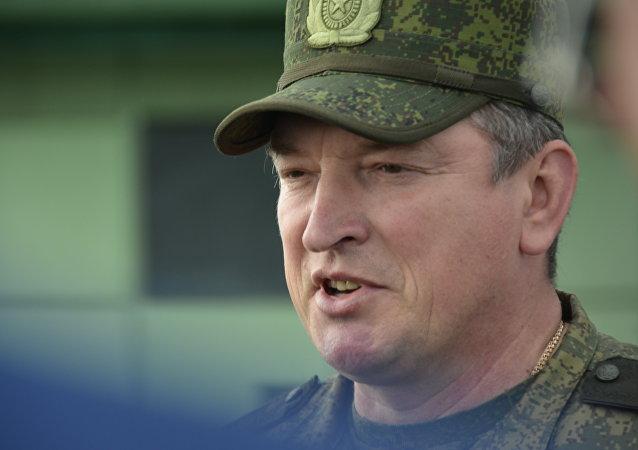 俄聯邦中央軍區總指揮 亞歷山大·拉兵