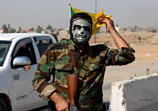 葉派組織「Al-Hashd al-Shaabi」 民兵