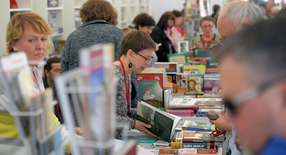 中國20多家出版單位亮相2018年莫斯科國際圖書博覽會