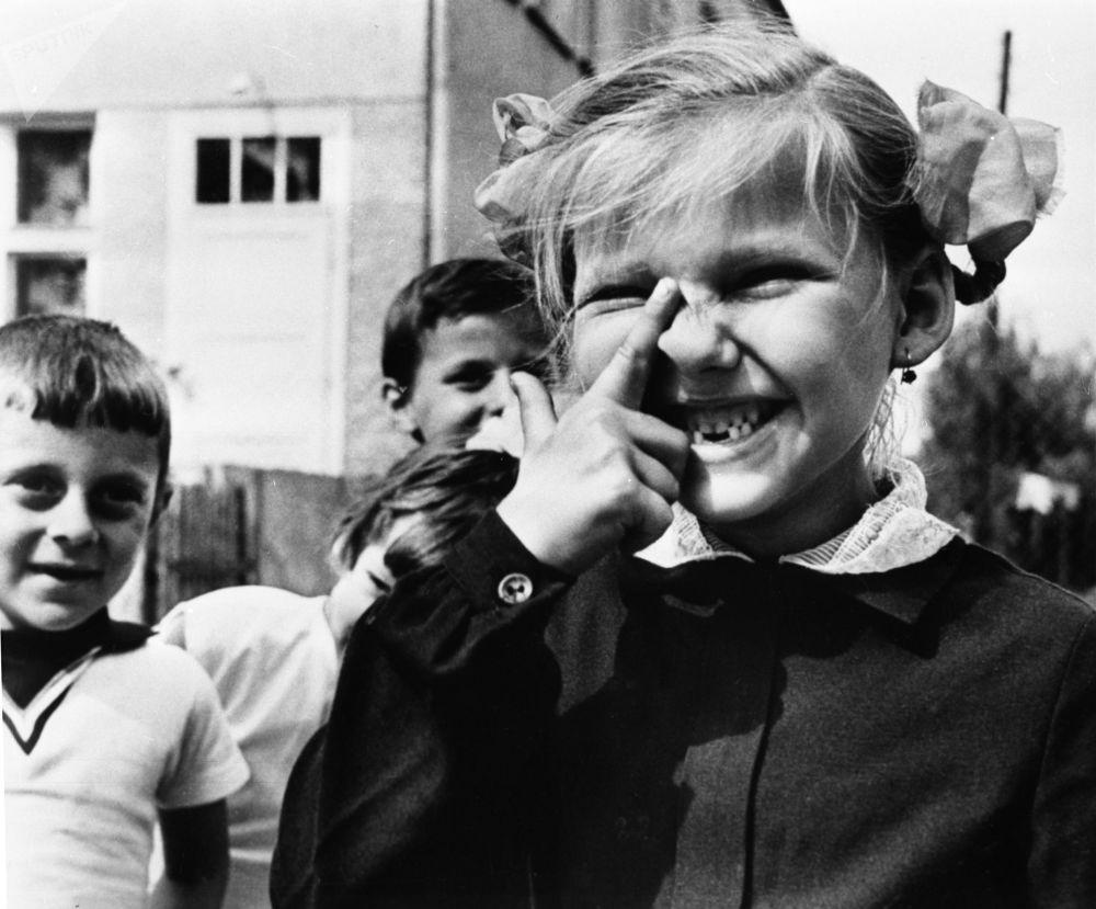 一年級新生,1970年。