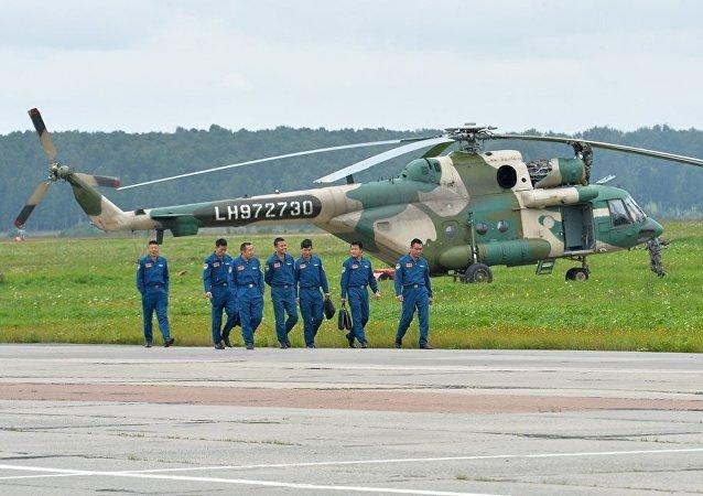 上合組織反恐軍演後中印哈軍事飛行員已從俄羅斯啓程回國