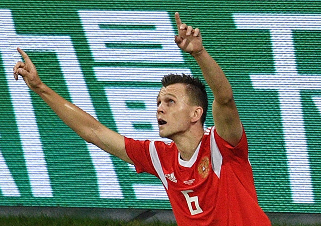 切雷捨夫的入球角逐國際足聯評選的2018年世界杯最佳進球評選