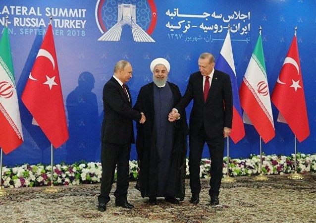 俄土伊領導人峰會