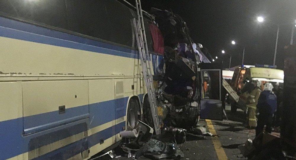 沃羅涅日州兩輛客車相撞致死亡人數升至5人 20人受傷
