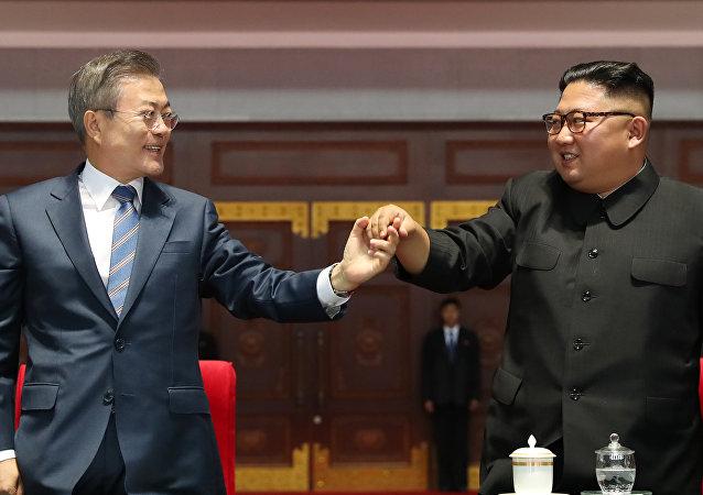 韓國總統稱6月未籌備朝韓峰會 但也未取消