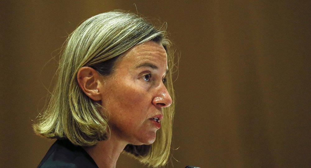 歐盟外交和安全政策高級代表費代麗卡∙莫蓋里尼