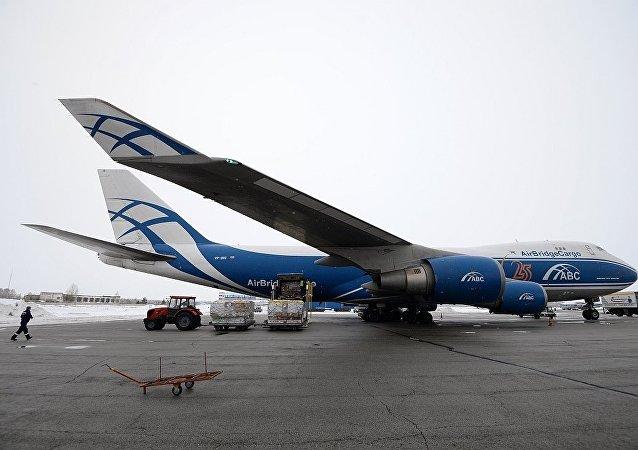 俄羅斯空橋貨運航空公司(AirBridgeCargo)的Boeing-747貨機