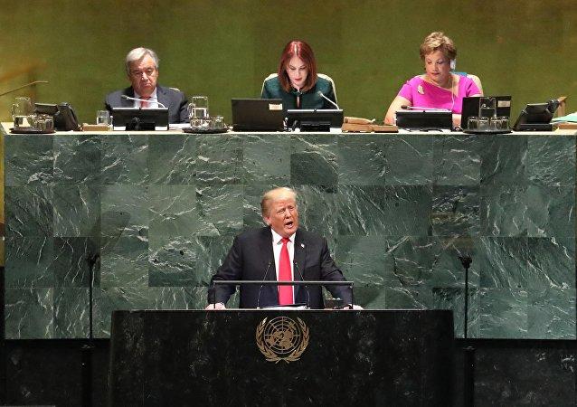 為甚麼特朗普在聯合國大會上遭到嘲笑