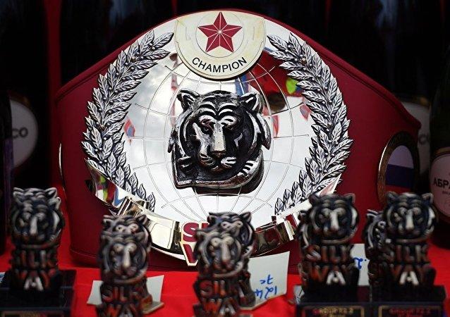 中國車手劉昆獲得2018絲綢之路拉力賽總成績第一