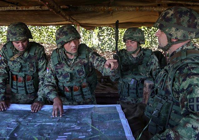 俄羅斯與塞爾維亞打算使聯合軍演年度化
