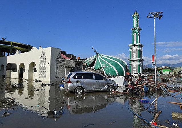 聲明:世行將為印尼震後重建提供10億美元