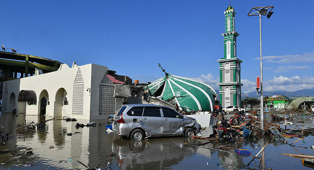 印尼政府呼籲國際社會提供救災援助