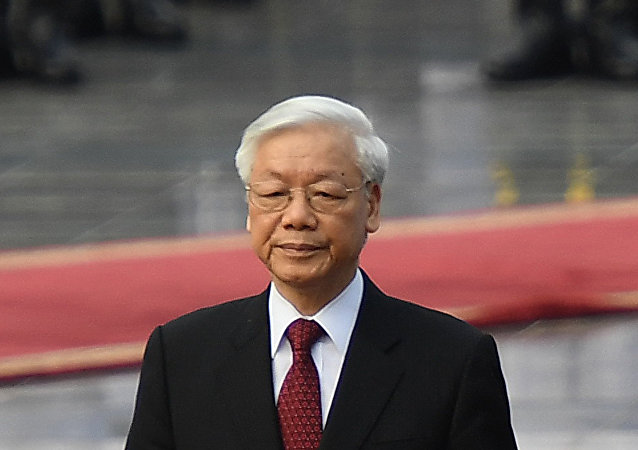 越南共產黨中央總書記、國家主席阮富仲