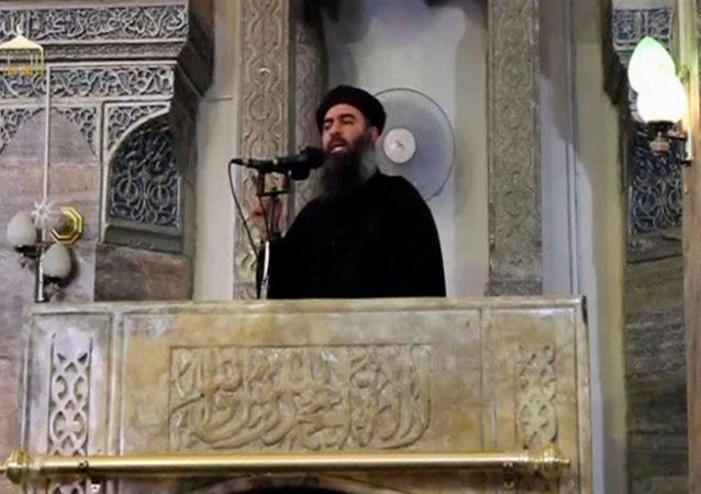 恐怖組織「伊斯蘭國」頭目阿布•巴格達迪