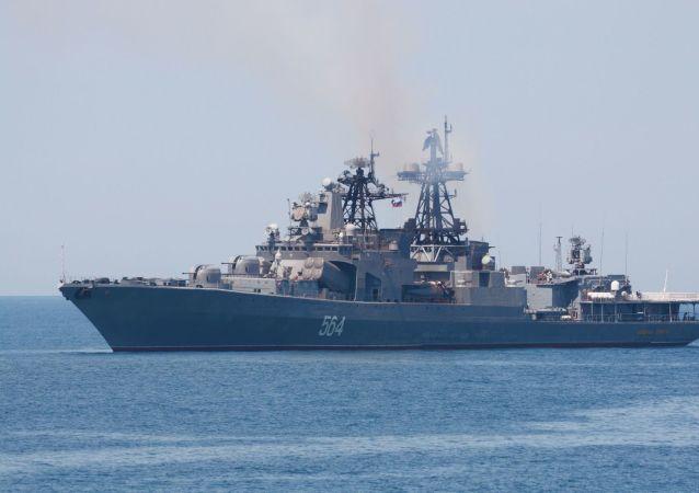 俄海軍太平洋艦隊部隊完成對日本的訪問