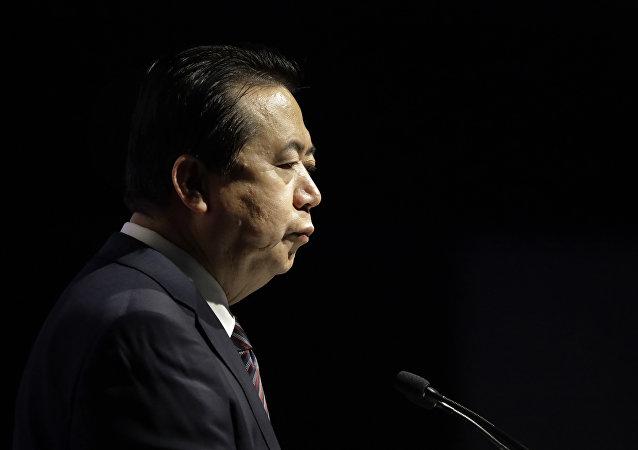 Interpol President, Meng Hongwei
