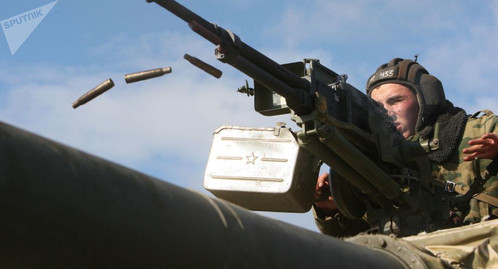 俄東部軍區2500多名軍人開始在布里亞特進行實彈射擊